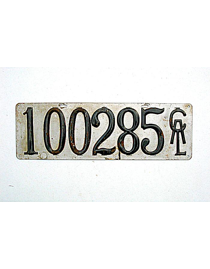 Vintage California Plates 70