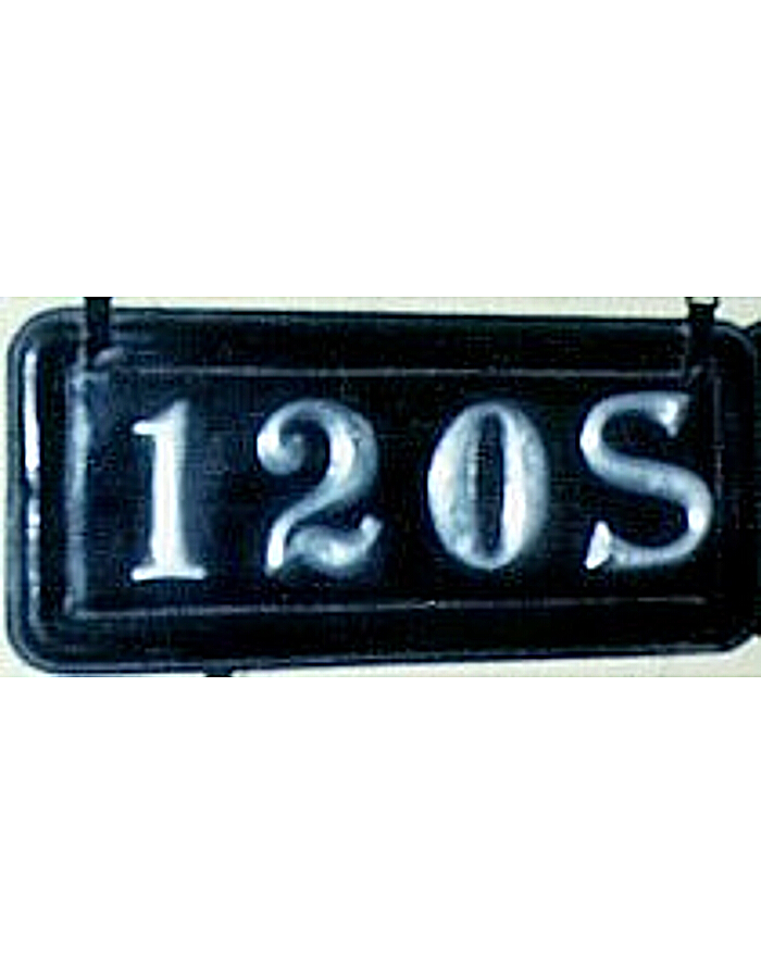 Old License Plates 105
