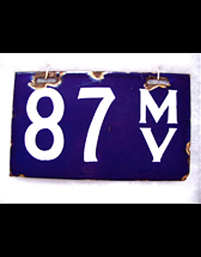 colorado vintage license plates