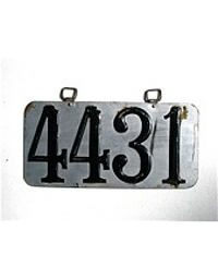 Old Colorado License Plates 1