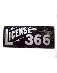 Vintage Colorado License Plates 2