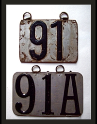 Old Colorado License Plates 3