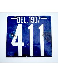 Old Delaware License Plates
