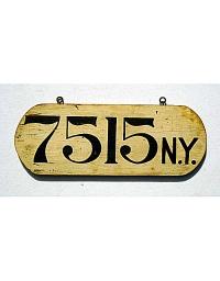 vintage license plates 1906