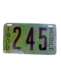 leather license plate alabama