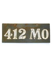 leather license plate missouri