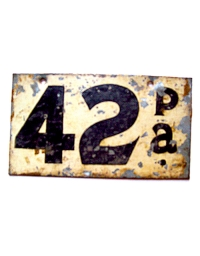 leather license plate pennsylvania