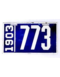 old porcelain license plates pennsylvania