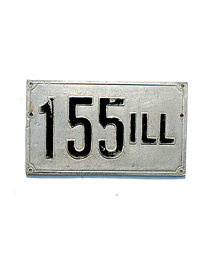 old Illinois metal license plates 1  sc 1 st  LeatherLicensePlates.com & Old Illinois License Plates | Vintage Illinois License Plates
