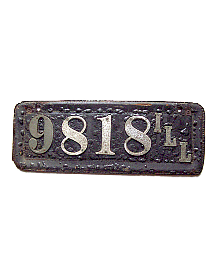 Old Illinois License Plates | Vintage Illinois License Plates