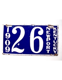 Old Kentucky License Plates 3