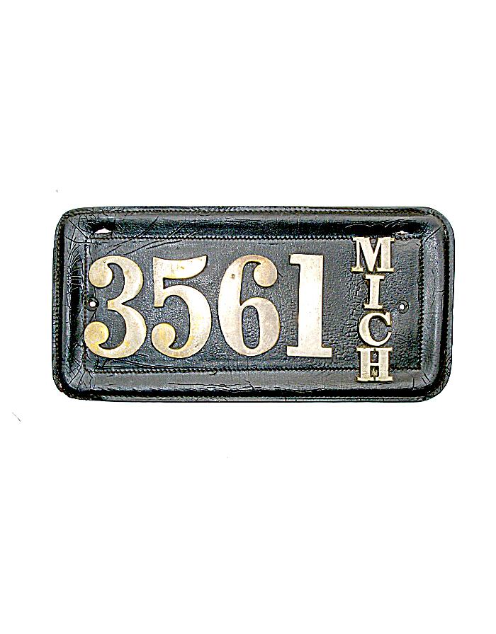 Old Michigan License Plates | Vintage Michigan License Plates