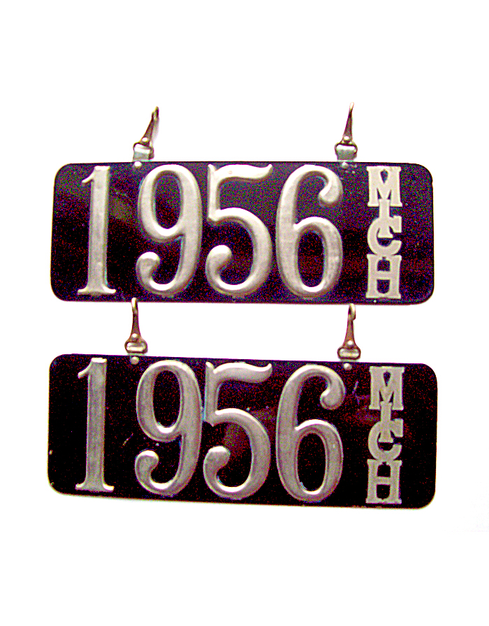 Old Michigan License Plates | Vintage Michigan License Plates