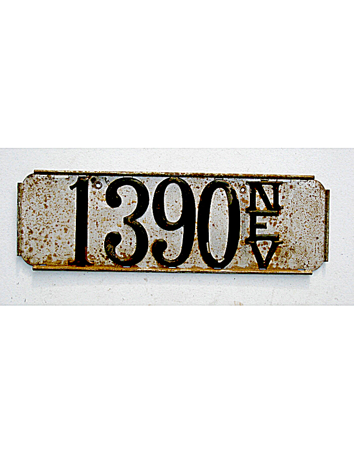 Old License Plates 111
