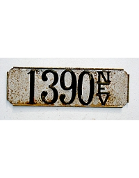 old Nevada metal license plates 1