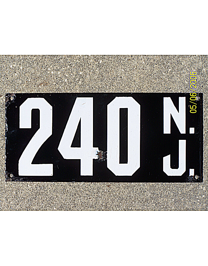Old New Jersey Metal License Plates 2