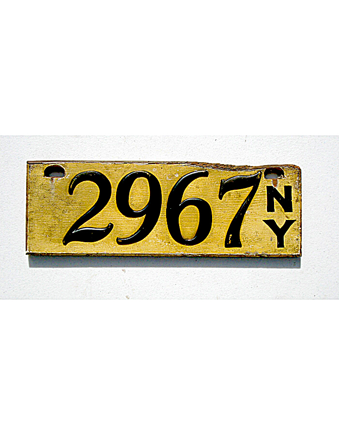 Old License Plates 86