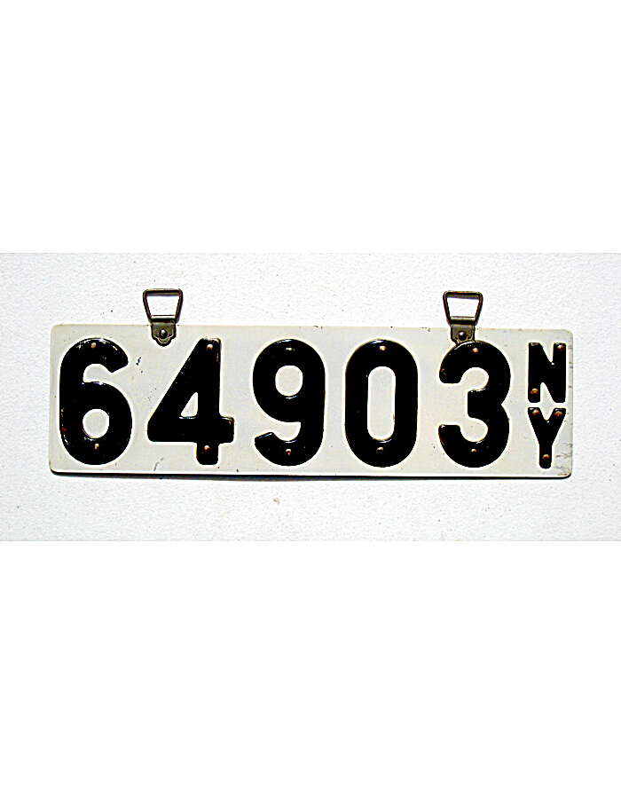 Old License Plates 75