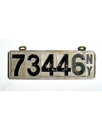 old New York metal license plates 5