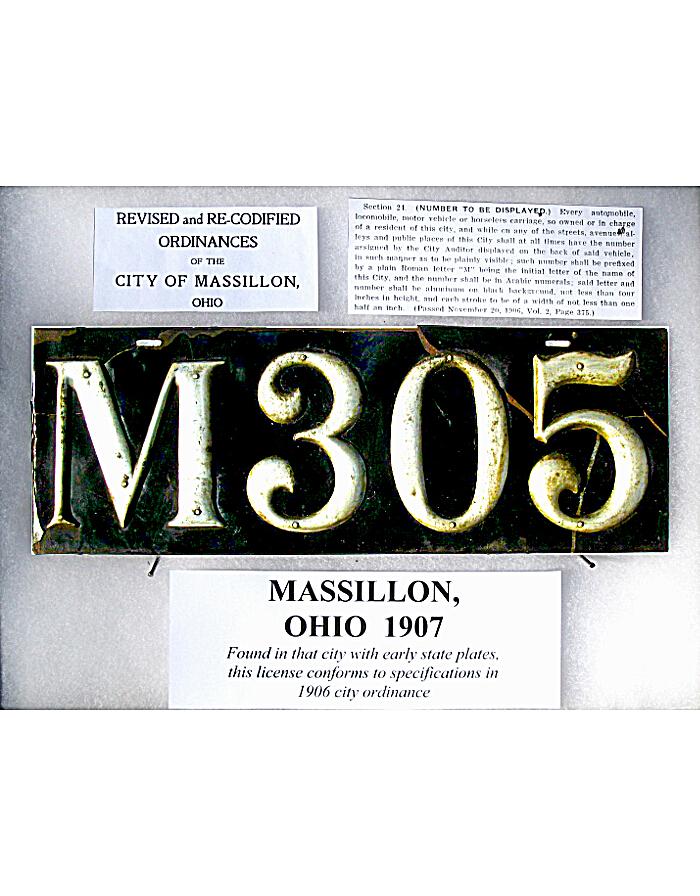 Old Ohio License Plates | Vintage Ohio License Plates