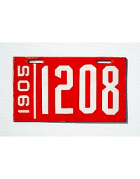 old Pennsylvania metal license plates 4