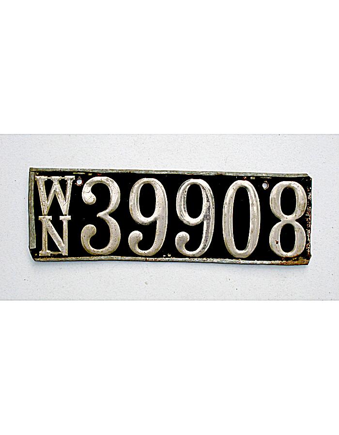 Old Washington License Plates | Vintage Washington License Plates