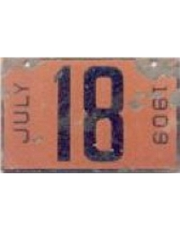 old Arkansas porcelain license plates 1