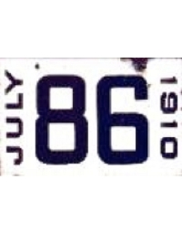 old Arkansas porcelain license plates 4