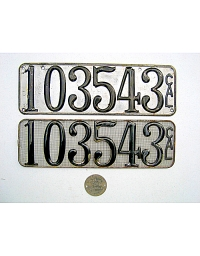 Old California License Plates 10