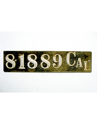 Old California License Plates 9