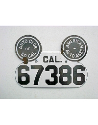 Vintage California License Plates 7