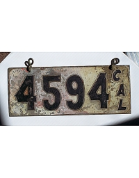 Old California License Plates 2