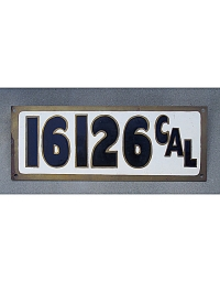 Vintage California License Plates 12