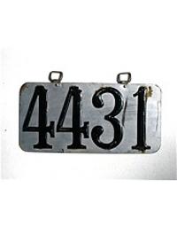 Old Colorado License Plates 1