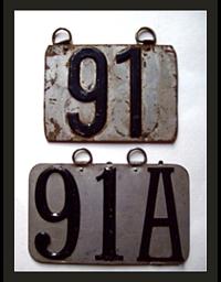 Old Colorado License Plates 3