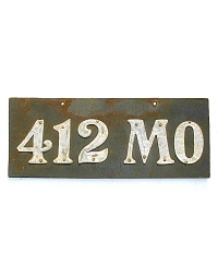leather license plate missouri
