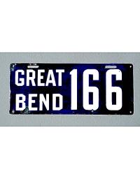 old Kansas metal license plates 3