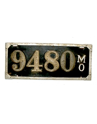 old Missouri leather license plate 6