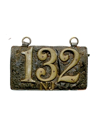 old New Jersey leather license plate 1