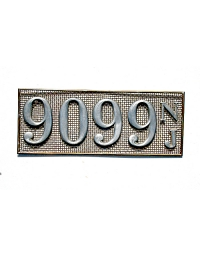 old New Jersey metal license plates 5