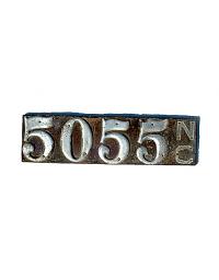 old North Carolina leather license plate 4