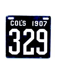 old Ohio metal license plates 7