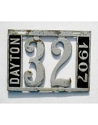 old Ohio metal license plates 2