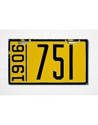 old Pennsylvania metal license plates 5