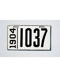 old Pennsylvania metal license plates 3