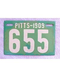 old Pennsylvania metal license plates 10
